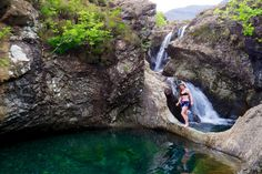 Go wild swimming in Skye's Fairy Pools.   18 Sublime, Magical, And Unique Ways To Chill Out In Scotland