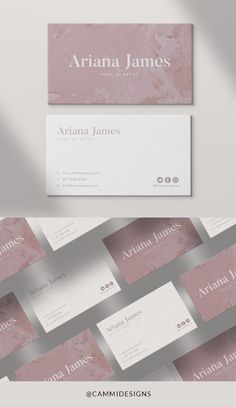 Business card design template for your business/ brand! This business card design will be personalised with YOUR details: Brand Design Professional Business Card Design, Luxury Business Cards, Minimalist Business Cards, Elegant Business Cards, Salon Business Cards, Hairstylist Business Cards, Professional Logo, Modern Minimalist, Name Card Design