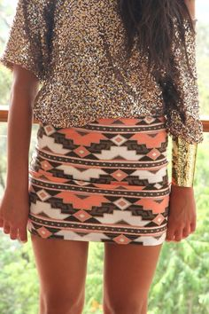 Aztec Dress #emma875 #aztecfashion www.2dayslook.com