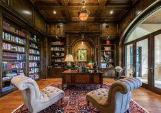 дневник дизайнера: Кабинет-библиотека в классическом стиле: основные принципы дизайна и 20 великолепных проектов