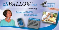 eSWALLOW USAAdvance NMES for dysphagia.  Pinned by SOS Inc. Resources @sostherapy http://pinterest.com/sostherapy.