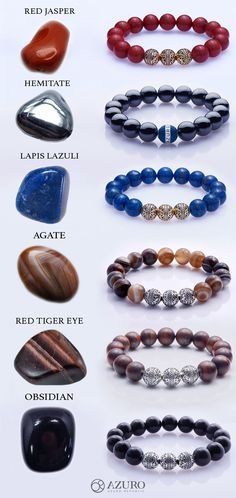 Presenting the finest Men's Beaded Bracelet collection from Azuro Republic. The finest crystal and healing gemstone jewelry with gold and silver, and best gift for men in fine suits. Find out your Gemstone Beading Bracelet that matches your chakra TODAY! Making Bracelets With Beads, Bracelets For Men, Handmade Bracelets, Silver Bracelets, Beaded Bracelets, Best Gifts For Men, Bracelet Sizes, Stone Bracelet, Bracelet Designs