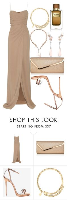 """""""Night Out"""" by angelbrubisc ❤ liked on Polyvore featuring Burberry, Boucheron, Lipsy, Giuseppe Zanotti, Chanel and Dolce&Gabbana"""