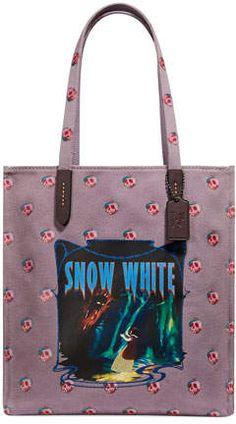 f16dcad0a04698 Coach 1941 DISNEY X COACH Snow White Tote Bag Coach Disney, Dark Fairytale,  Coach