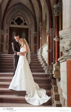 Julia Schick Fotografie - Helen & David, Castle, Wedding, Schloss, Hochzeit, classic