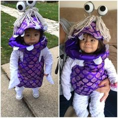 Boo from Monsters, Inc. | 33 Magical Disney Costumes Guaranteed To Win Halloween
