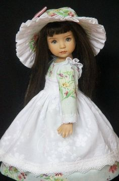 "Autumn Meadow OOAK Ensemble  for Effner 13"" Little Darling ~ by Gloria"