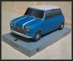 BMW Classic Mini Cooper Paper Car Free Vehicle Paper Model Download - http://www.papercraftsquare.com/bmw-classic-mini-cooper-paper-car-free-vehicle-paper-model-download.html