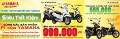 Khuyến mãi Yamaha tặng phiếu quà tặng cho các dòng xe trang bị công nghệ FI   ghienkhuyenmai