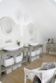 great idea for sink/hardware/tile/mirror/table