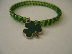 Hey, I found this really awesome Etsy listing at https://www.etsy.com/listing/222732701/metal-coil-st-patricks-day-bracelet