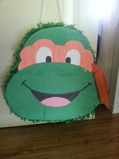 Ninja turtles pinata for  twins party