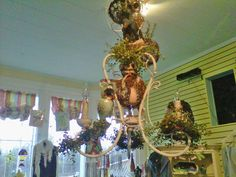 Owl Chandelier/Blooming Ideas Boutique