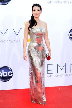 Lucy Liu had the best dress Emmys night, hands down.