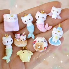 HI EVERYONE!! (just in case anyone forgets) My name is Jamie, and I make charms out of clay~~ it's been a while, hope y'all are doing…