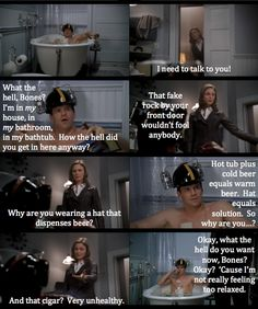 BONES...I love this show! This is such a funny scene!! - more funny things: http://hotfunnystuff.com