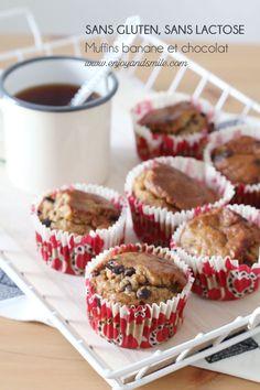 Ma recette de muffins ultra-moelleux et gourmands aux bananes et pépites de chocolat (sans gluten, sans lactose)