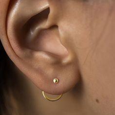 Catbird Jewelry - Catbird Gold Ear Nut Earring