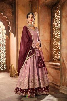 65ae92fc7e Get your Charming look in this net western wear Bollywood Gown with Heavy  embroidered work in