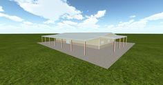 3D #architecture via @themuellerinc http://ift.tt/2b0M8RS #barn #workshop #greenhouse #garage #DIY