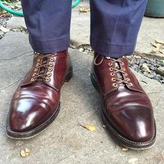 #Alden x #Fransboone 4060H captoe #boots #horween #shellcordovan #menswear #mensshoes #madeintheusa #madeinamerica #aldenarmy #aldenboots