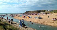 Our beach of the week is Summerleaze beach in North Cornwall. The wide, sandy beach and gentle river make it a popular spot for families! Bude Cornwall, North Cornwall, Cornwall England, Us Beaches, Sandy Beaches, Devon Holidays, Cornish Beaches, Cornwall Beaches, British Seaside