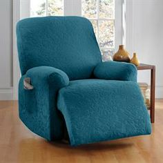 Stretch Damask Recliner Slipcover | Recliner Covers | Brylanehome