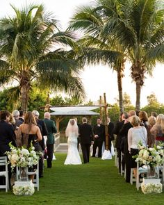 Hyatt Regency Coconut Point Resort & Spa puts together beautiful weddings!