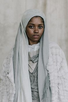 Portrait of a Muslimah... Model: Boshia Rae Jean, Stylist: Space