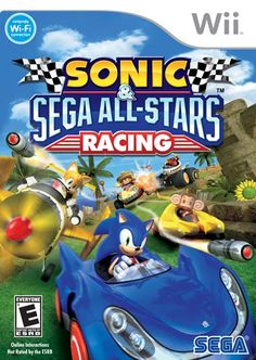 another game option: Sonic Sega All Stars Racing: Nintendo Wii: Video Games Nintendo Ds, All Star, Riot Points, Battlefield 4, Ds Games, Mario Kart, League Of Legends, Wi Fi, Playstation