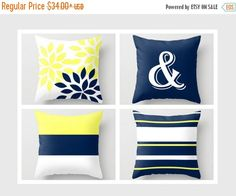 SALE Throw Pillow Covers Accent Pillow Covers by HLBhomedesigns