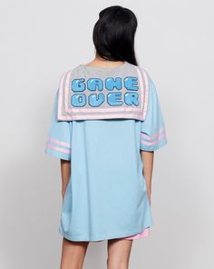 Lazy Oaf Game Over T-shirt - Everything - Categories - Womens