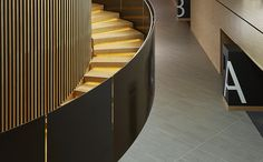Century City Conference Centre Staircase detail by Source Interior Brand Architecture