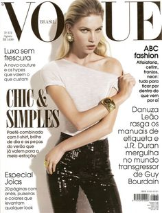 122 Best Vogue Brazil Covers images in 2019   Vogue covers, Vogue ... 7109c03d2b