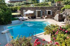 Villa Ragalna, Sicily.  Beautiful little Sicilian villa with private pool on the East of Sicily.