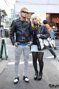 Motorcycle Jackets from Tokyo Punker & Schott in Harajuku