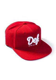 Def Signature Starter Cap - Cardinal (G) Cap, Fashion, Baseball Hat, Moda, Fashion Styles, Fashion Illustrations