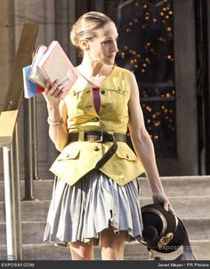 lookin' chic at the library!