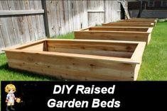 DIY Raised Garden Bed - Weekend Project -  http://thegardeningcook.com/diy-raised-garden-beds/