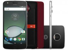 Smartphone Motorola Moto Z Play Sound Edition 32GB - Preto e Prata Dual Chip 4G Câm. 16MP + Selfie 5MP