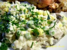 Risotto, Potato Salad, Potatoes, Cooking Recipes, Meat, Chicken, Ethnic Recipes, Fine Dining, Salads