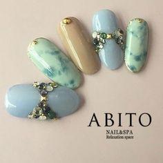 ビジューリボン×タイダイ nd68866   ABITO -nail-(アビトー)のネイルデザイン・ネイルアート・ネイルカタログを探すなら楽天ビューティ。春らしい色味を全面に。ビジューリボンで大人の可愛らしさをプラスして・・・