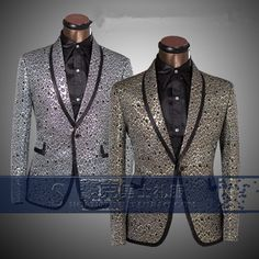 Cheap stage effects, Buy Quality stage costume directly from China stage caps Suppliers:            2015 new spring autumn winter male quality flannelet suit decorative pattern personality blazer singer d