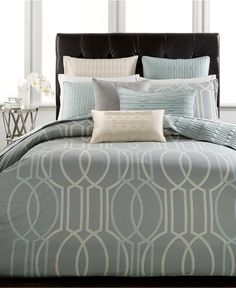 Hotel Collection Modern Interlace Bedding Collection, Only at Macy's - Hotel Collection Bedding - Bed & Bath - Macy's