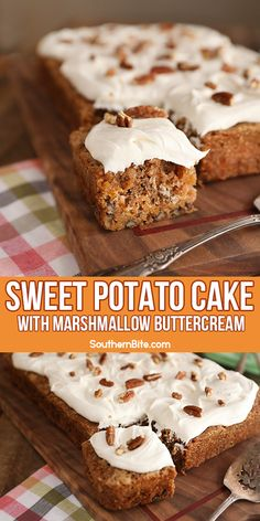 Fall Desserts, Just Desserts, Delicious Desserts, Dessert Recipes, Yummy Food, Sweet Potato Muffins, Sweet Potato Recipes, Southern Sweet Potato Cake Recipe, Cupcakes