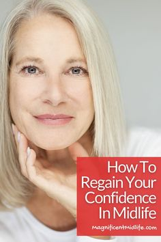 Top tips for how to regain your confidence in midlife. Losing it often happens. Here's how to get it back for your magnificent next chapter. Read this now or pin for later! Stuck In Life, Finding Purpose, Menopause, Feeling Great, Healthy Habits, Health And Wellness, Confidence, Shit Happens, Group