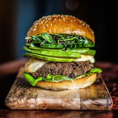 The Veggie Burger You Will Actually Want To Eat - Black Bean Green Goddess Burgers