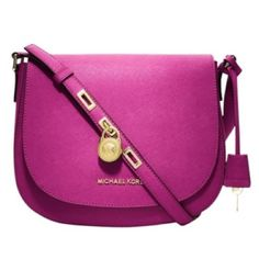 Michael Kors Large Hamilton Crossbody Excellent condition. Used less than 10 times. Michael Kors Bags Crossbody Bags