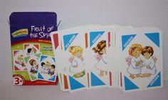 Inspira Link Bible Card Game Fruit of the Spirit 2-4 Player Like Crazy Eights 3+ #InspiraLink