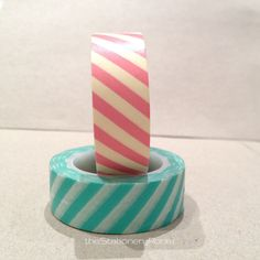 Washi Tape - Masking Tape Candy Stripes